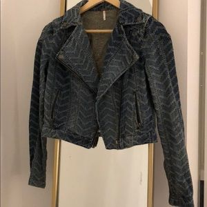 Free people biker jacket